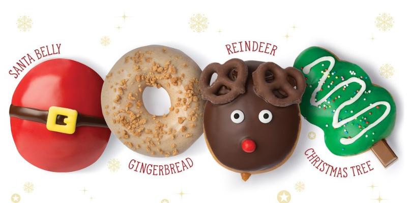 Krispy Kreme Christmas Doughnuts 2020 Krispy Kreme Launches Christmas Doughnuts – WorldBakers