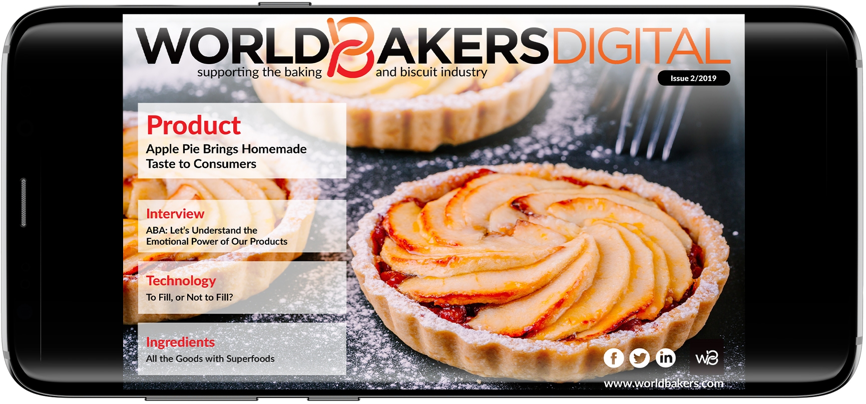 Home - WorldBakers Supporting the baking and biscuit industry